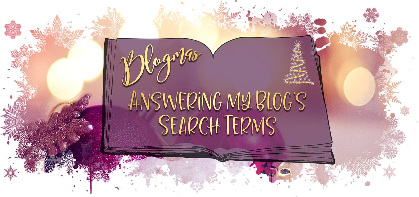 Blogmas Answering my blogs search termsv2